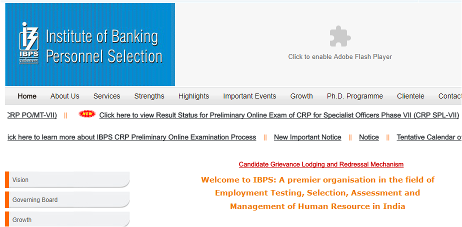 IBPS SO Result 2017 of preliminary exam is now available at ibps.in
