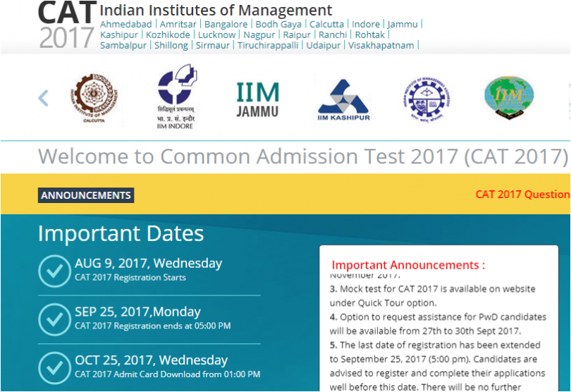 CAT Result 2017 to be declared soon at iimcat.ac.in