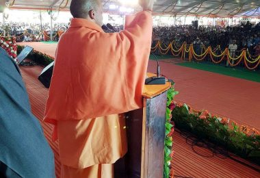 Yogi Adityanath visits Bengaluru to conduct BJP rally ahead of Karnataka elections