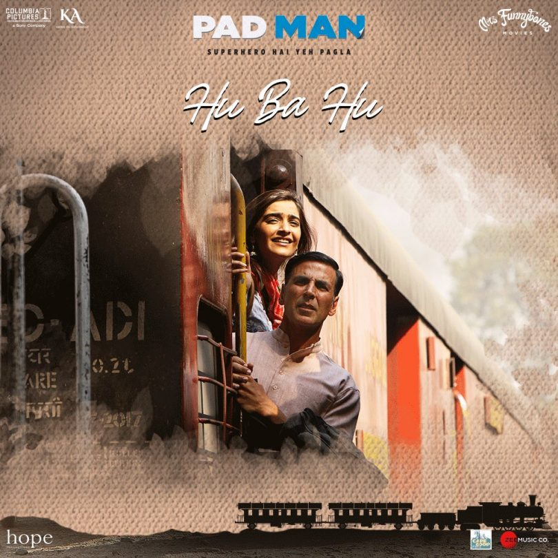 PadMan presents new song Hu Ba Hu starring Akshay Kumar and Sonam Kapoor