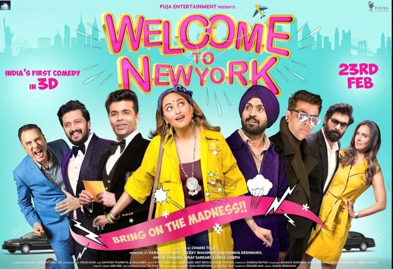 Welcome to New York: Sonakshi Sinha, Diljit Dosanjh, Karan Johar and others join the moive