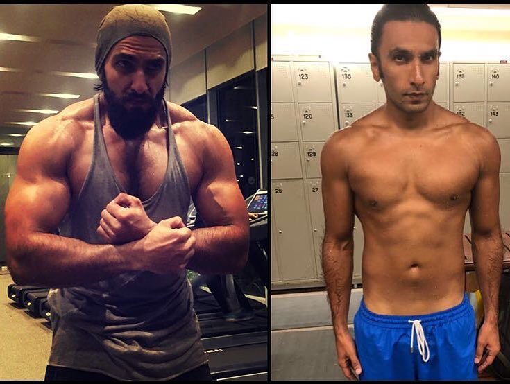 Ranveer Singh's insane transformation from Padmaavat to Gully Boy