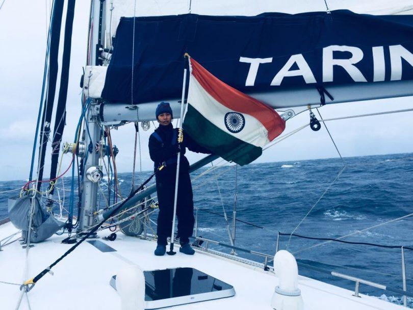 Navy's all woman Crew, INSV Tarini, successfully crosses Cape Horn
