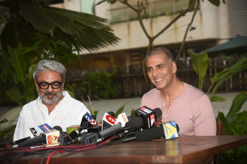 Bhansali requested Akshay to move Padman to 9 February