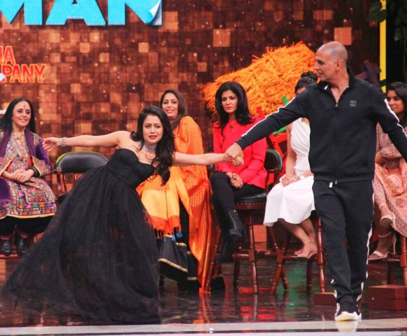 Neha Kakkar and Akshay Kumar, will be seen together on Super Night's Sunday episode
