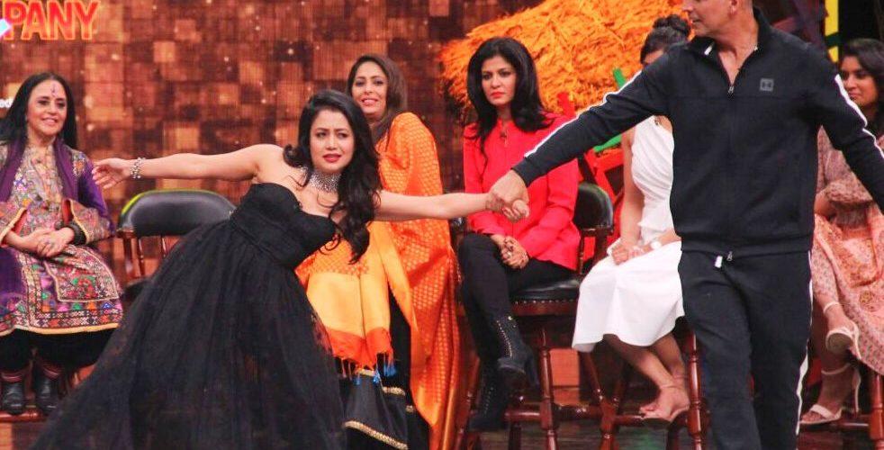 Neha Kakkar and Akshay Kumar, will be seen together on Super Night's Sunday episode