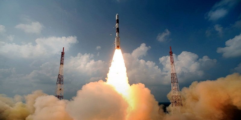 ISRO launches PSLV C40 missile