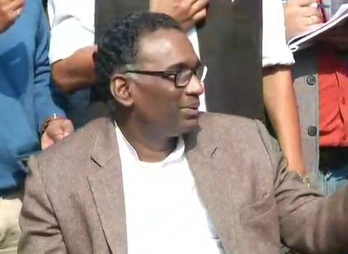SC Justice Chelameswar and three judges addresses press conference against CJI Dipak Misra