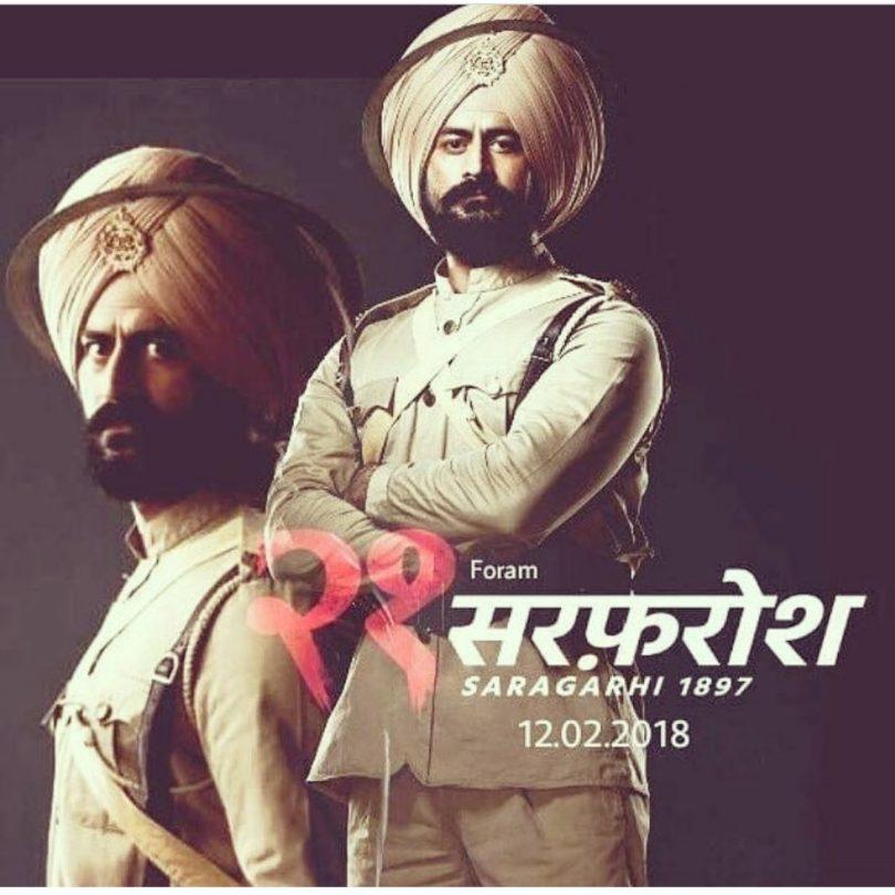 Mohit Raina's Sarfarosh: Saragarhi 1897 to premiere on 2 Feburary 2018