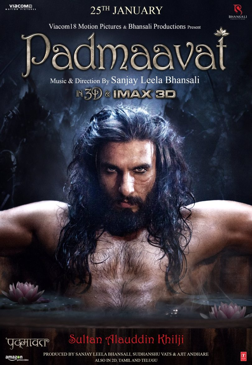 Ranveer Singh shares official Padmaavat release announce poster