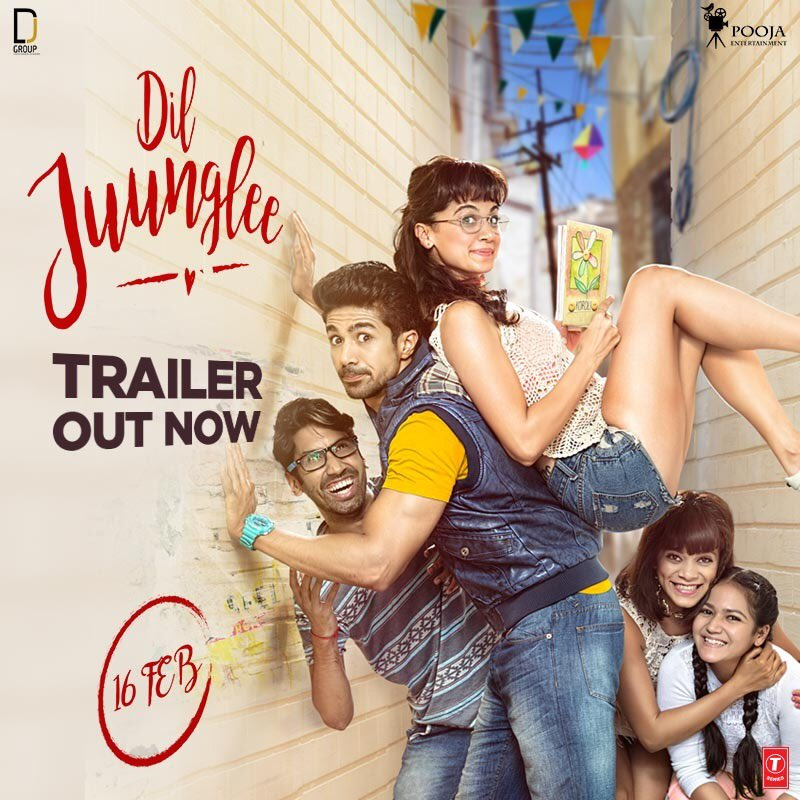 Dil Juunglee Gazab Ka Hai Din song: Taapsee Pannu and Saqib recreates Juhi and Aamir's love story