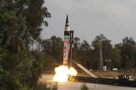 India test-fires ICBM that puts all of China in striking distance