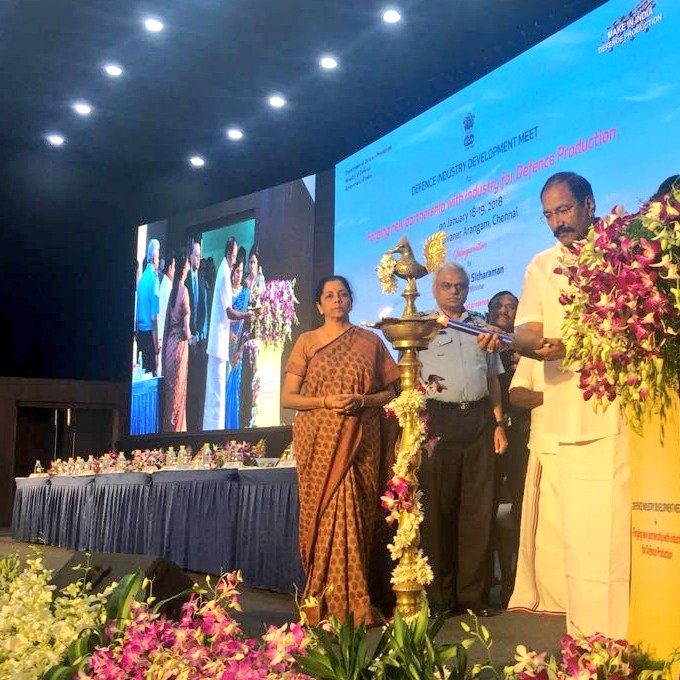 Nirmala Sitharaman inaugurates Defence Industry Development meet today