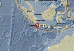 Earthquake in Indonesia, 6.0 magnitude