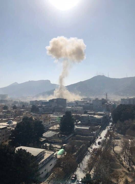 Kabul suicide bomb attack killed 20 and injured 70; Taliban claims responsibility