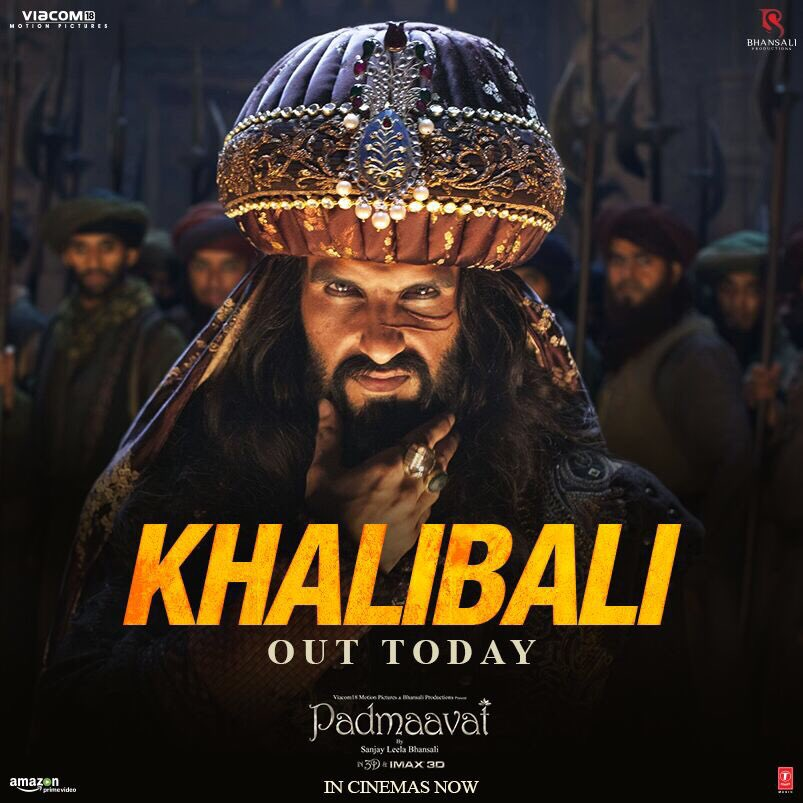 Padmaavat KhaliBali song released, Ranveer Singh's Khilji dances madly in the video