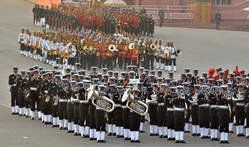 Beating Retreat Ceremony 2018 to be held today at Vijay Chowk