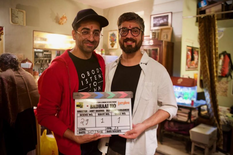Ayushmann Khurrana begins shooting for Badhaai ho