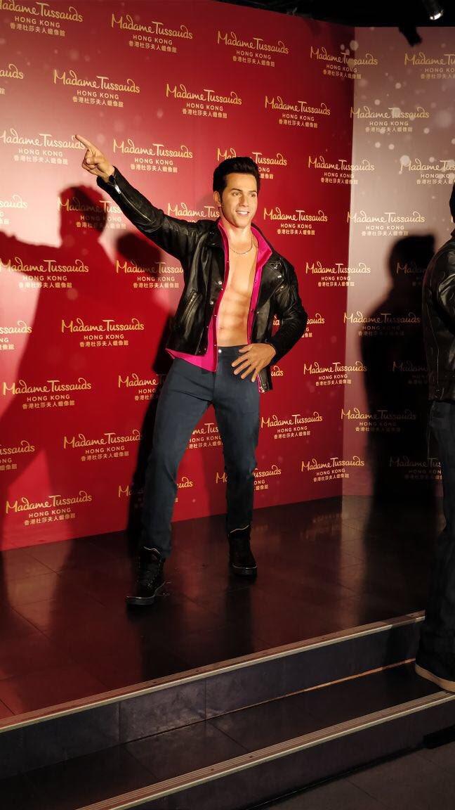 Varun Dhawan honored with a wax statue at Madame Tussauds Hong Kong