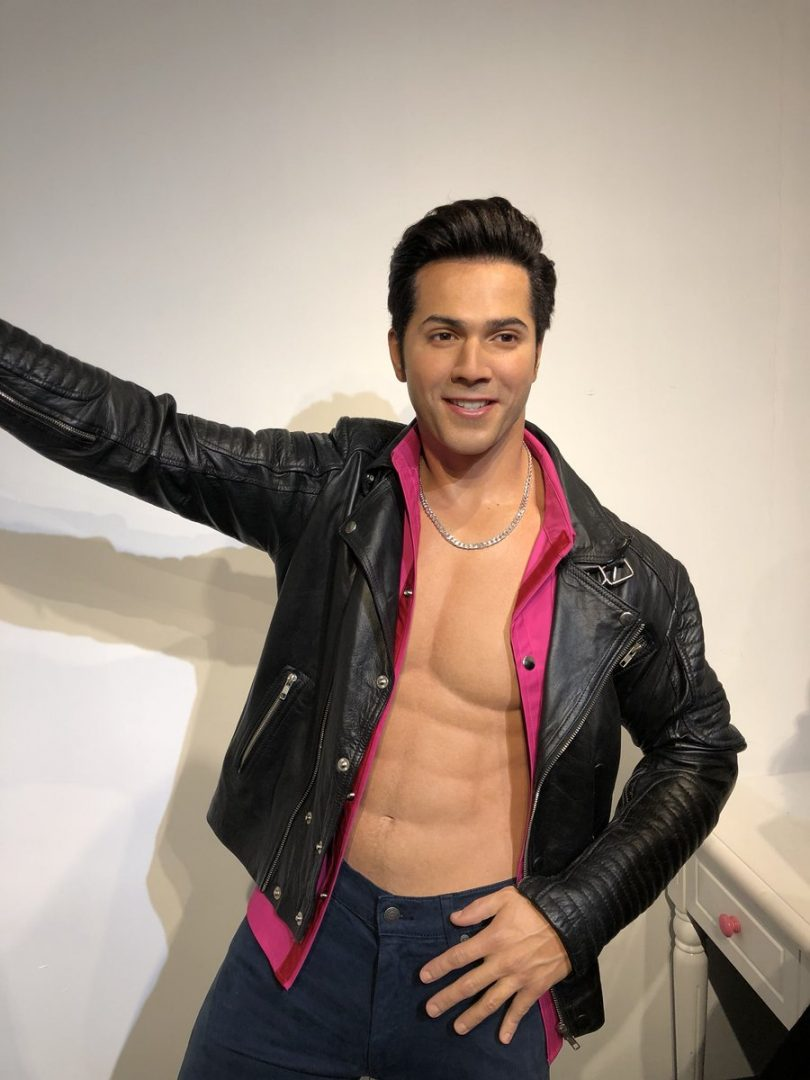 Varun Dhawan gets his Judwaa at Madame Tussauds Hong Kong
