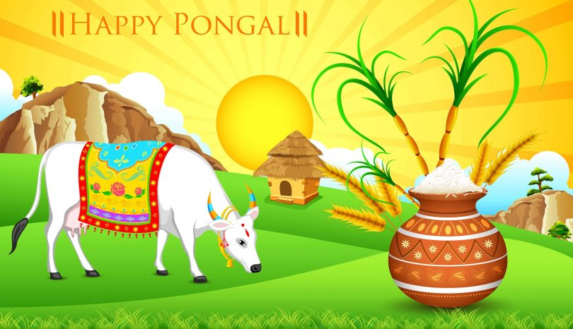 Happy pongal 2018 wishes messages quotes images and greetings m4hsunfo