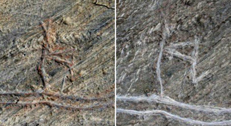 Oldest supernova found in Kashmir in a rock art