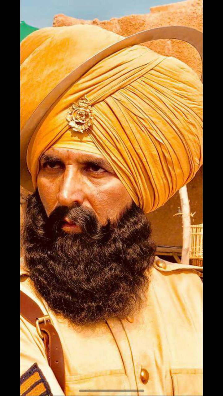 Akshay Kumar's first look from Kesari revealed