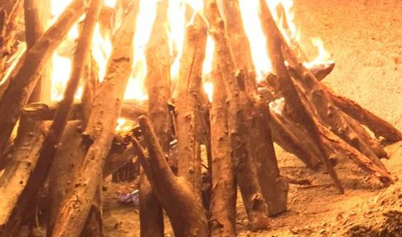 Lohri, time to feast around the Bonfire with family and friends.