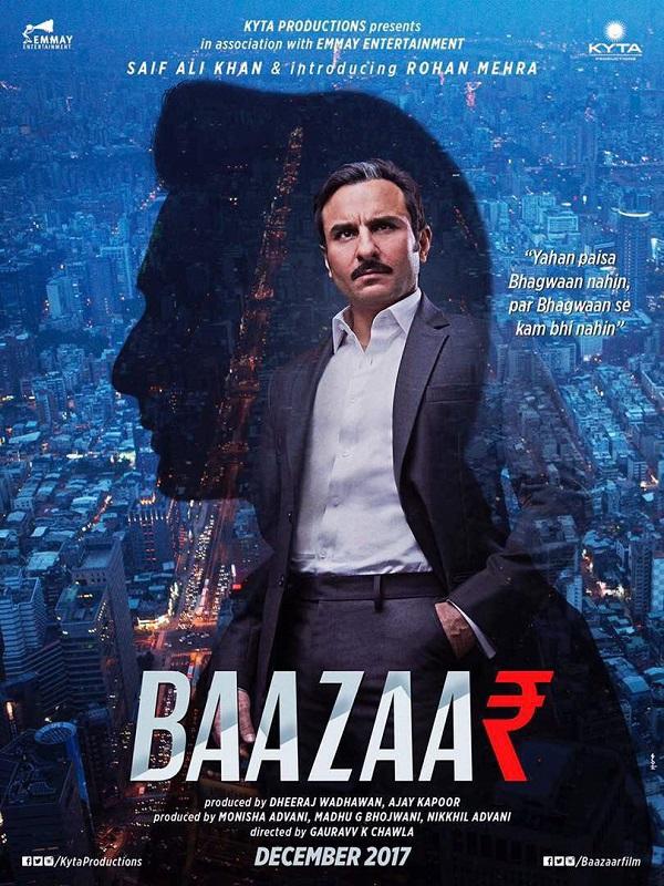 Saif Ali Khan's Baazaar to release on 28 April