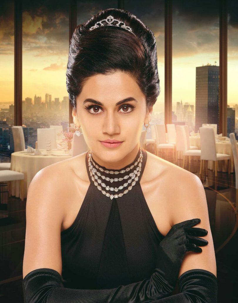 Taapsee Pannu as Audrey Hepburn in Karthik Srinivasan Calendar