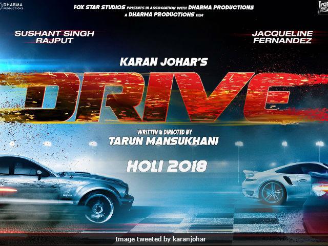 Sushant Singh, Jacqueline Fernandez starrer 'Drive' wraps the shoot