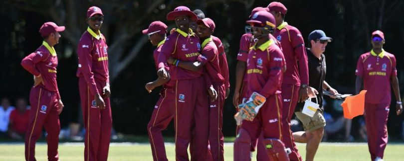 West Indies beat Ireland in the Plate Quarterfinal of ICC Under-19 World Cup 2018