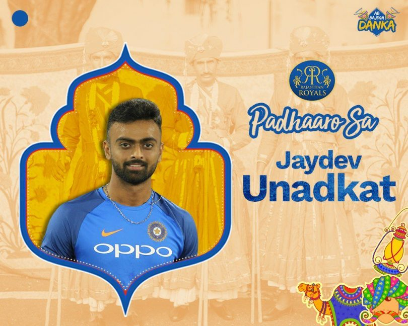 IPL Auction 2018, Rajasthan spents 17.70 Crore on Udanakat and Gowtham, Kolkata picks Mavi at 3 Crore