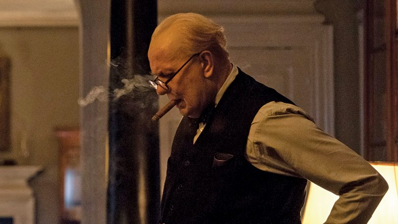 Darkest Hour movie review; Gary Oldman is Winston Churchill