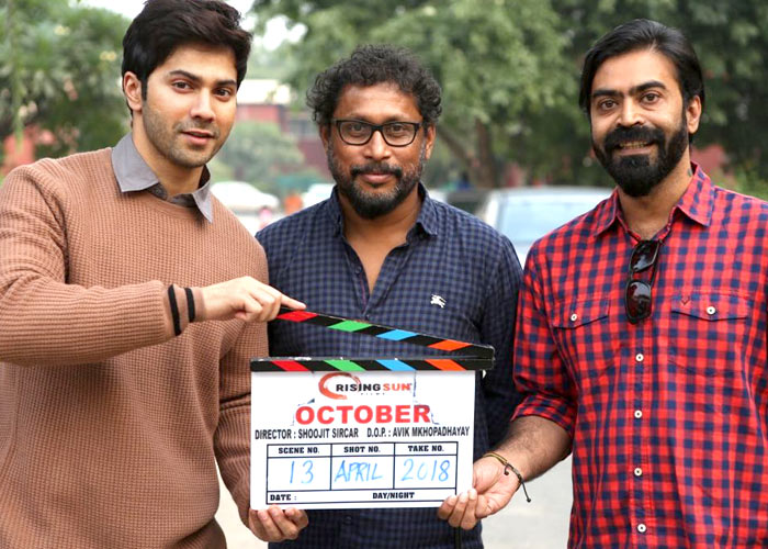 Varun Dhawan releases first teaser of 'October'