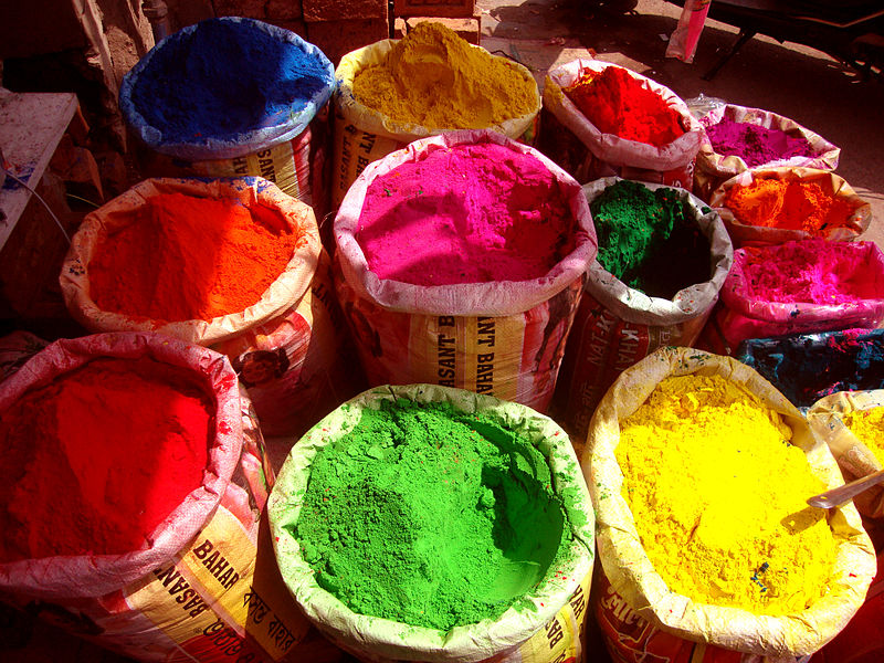 Gulal : type of color that brings different meanings in life