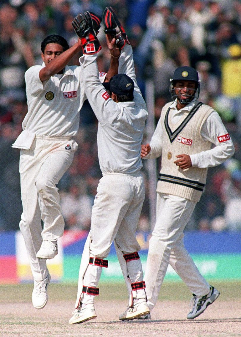 Anil Kumble 10 wicket match: Pakistan Tour of India 1999 memory re-visited