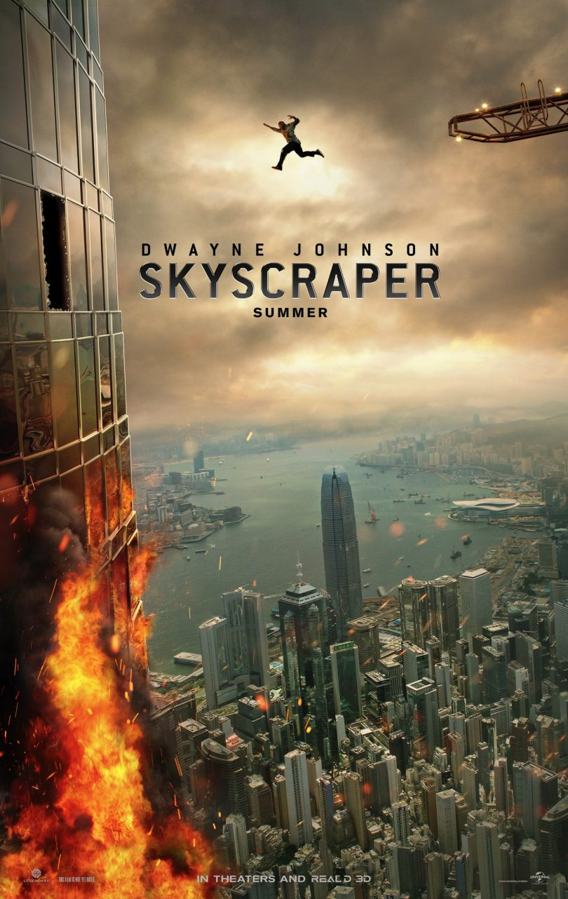 Dwayne Johnson's 'Skyscraper' releases a new poster and trailer date