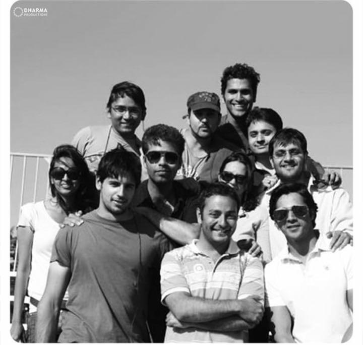 Siddharth and Varun Dhawan as assistant directors in a rare pic from 'My Name Is Khan'