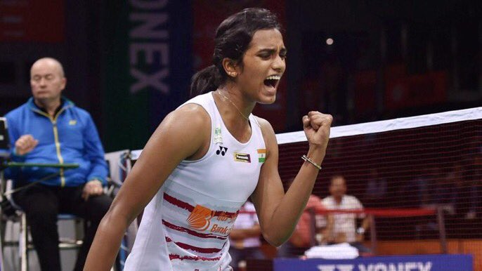PV Sindhu beats Ratchanok Intanon 21-13, 21-15, goes into finals