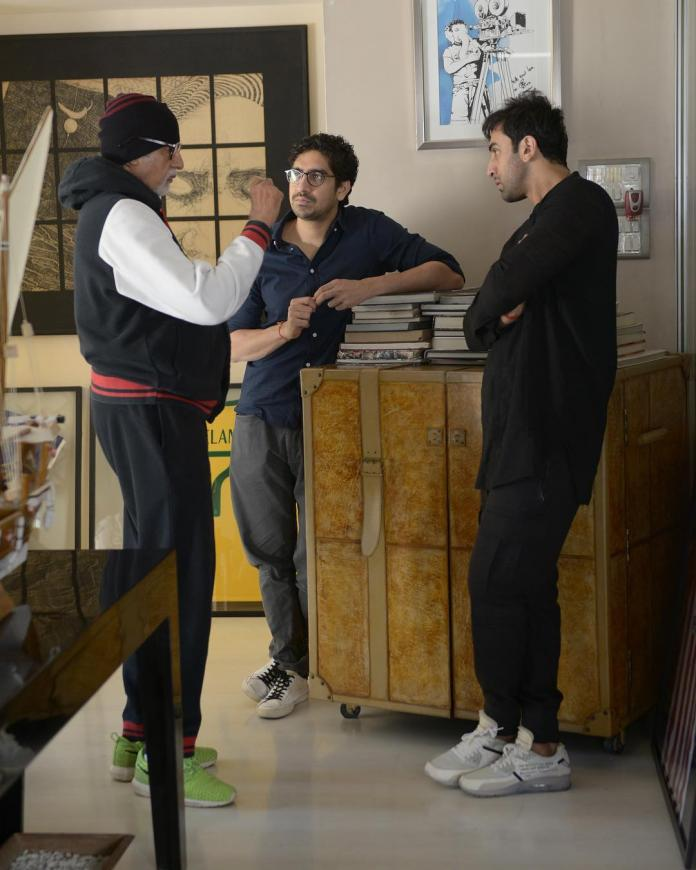 Ranbir Kapoor, Amitabh Bachchan preparing 'Brahmastra'