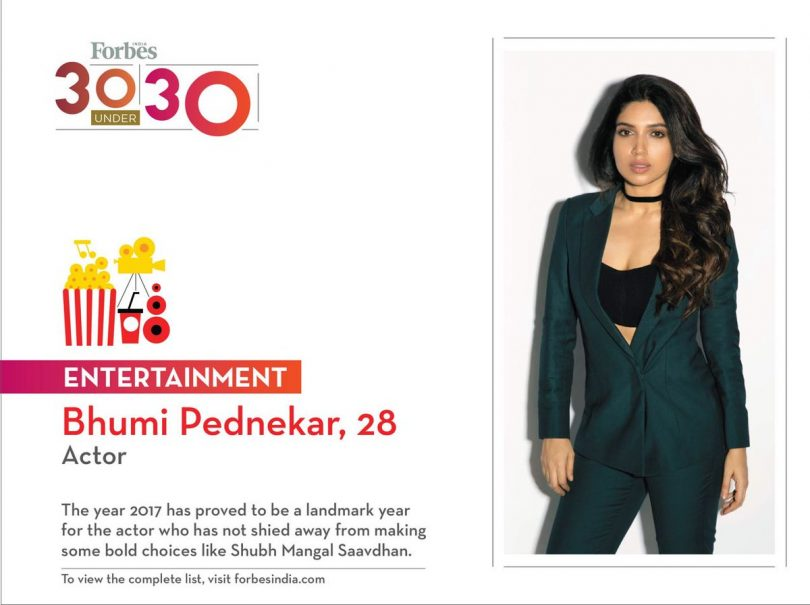 Forbes 30 under 30 list revealed, Vicky Kaushal, Bhumi Pednekar make it