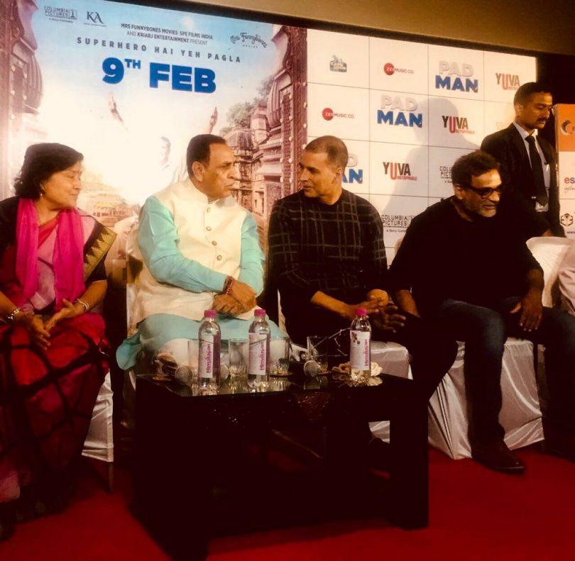 Padman first screening held in Gujarat for school children