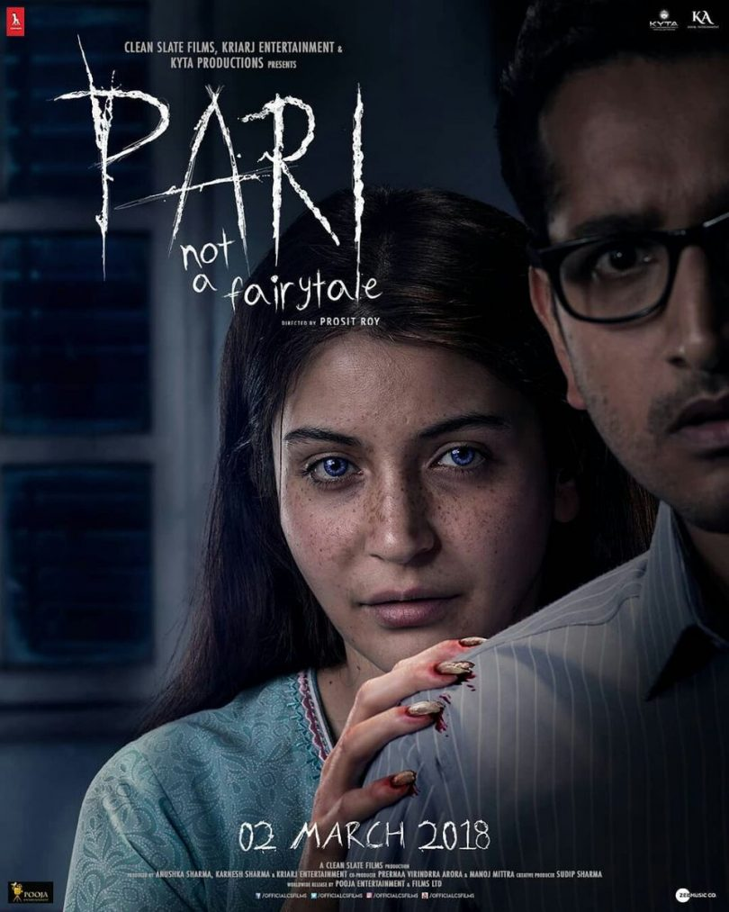 Anushka Sharma looks innocent and terrifying in the new Pari poster, teaser to release tomorrow