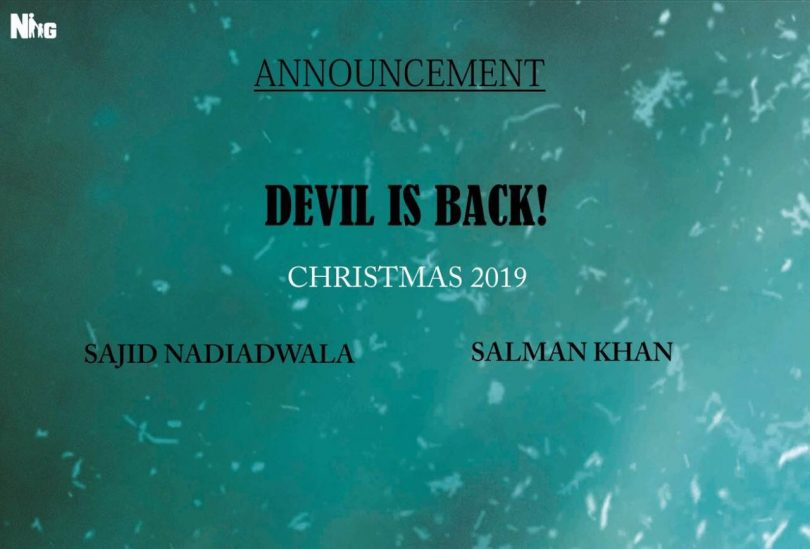 Salman Khan starrer 'Kick 2' has a release date, Devil is back!
