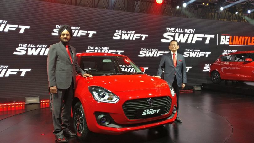 Auto Expo 2018: Maruti Suzuki's all new Swift launched, priced at Rs 4.99 Lakhs