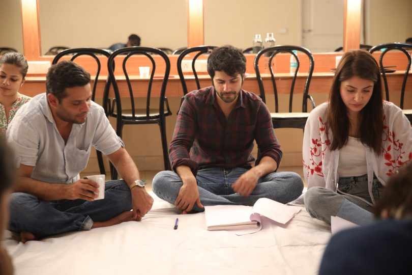 Varun Dhawan and Anushka Sharma start script reading to prepare for 'Sui Dhaaga'