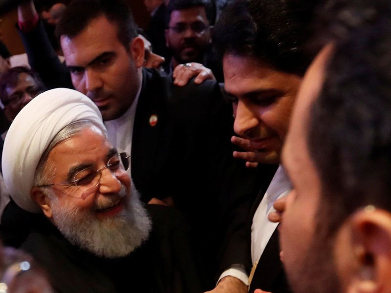 Iran President Hassan Rouhani in India, talks about the peaceful co-existence of people