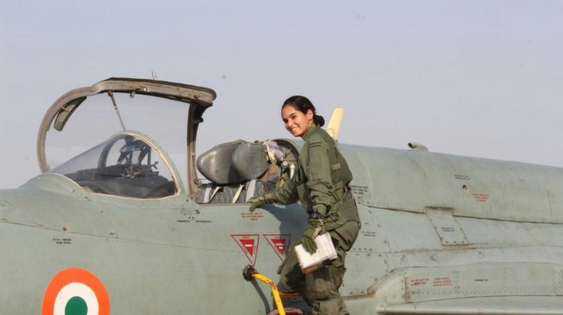 Avani Chaturvedi becomes the first Indian woman to fly a fighter aircraft solo