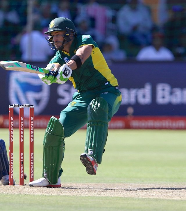 India vs South Africa 1st ODI, Du plessis brings back Proteas in the game